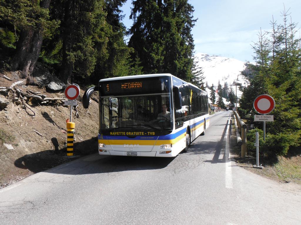 Verbier buses